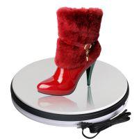宝康隆供应 鞋子电动转盘 360度3D立体展示 终端卖场陈列底座 电动旋转展台