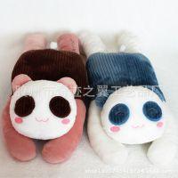 新款笑笑熊猫手暖  家居多功能毛绒玩具 送女生生日礼物 厂家批发