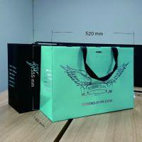 深圳宝安手提袋厂家定做特种纸手提袋高档服装大号手提纸袋