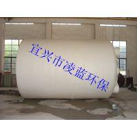 滚塑一体成型无焊缝PE水箱,凌蓝PE水塔,8000L储运容器