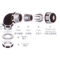 PA66尼龙弯角电缆接头型号种类_M16尼龙弯角电缆接头图片