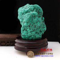 天然矿物晶体 天然原石摆件 观赏石 特价天然绿松石原石批发