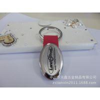 椭圆金属拉丝钥匙扣金属椭圆钥匙扣合金 椭圆 圈金属皮钥匙扣