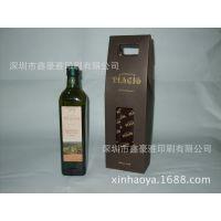 特种纸橄榄油包装盒 橄榄油手提盒 特种纸礼品包装盒 橄榄油纸盒