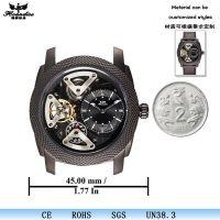 磨砂皮带军表 时尚户外运动男士手表 外贸热销机械表钟表手表