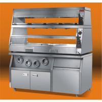 供应四川炸鸡汉堡店设备,成都汉堡机炸薯条炸炉烤箱裹粉台价格