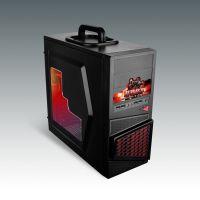 供应游戏将军黑客   游戏电脑机箱 带手提电脑机箱 透明侧板机箱