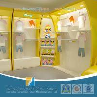 供应小孩服装架子 儿童服装货架 婴童展柜 幼儿用品展柜 童装展示柜