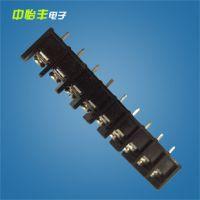 生产销售 DT45-9P导轨式接线端子 导轨式pcb接线端子