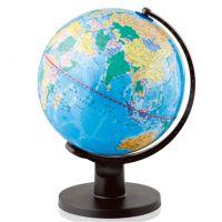 得力正品3034地球仪办公学生地理教学用品世界地图全塑彩印包邮