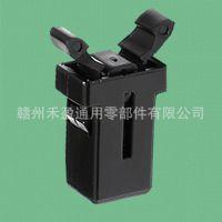 厂家低价批发 通用尼龙锁扣 手动优质塑料门扣开关 DL-2 黑色