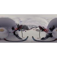 VR体感虚拟滑雪游戏【包游戏升级】