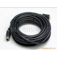 【厂家直供】供应VGA电脑连接线/延长线/转换线