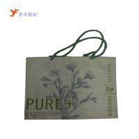 广州厂家专业生产环保麻布袋 拉绳麻布袋 麻布礼品包装袋