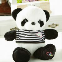 新年批发1号可爱穿衣熊猫 毛绒玩具公仔玩偶礼品可加工定制招代理