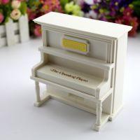 创意音乐盒批发 复古迷你钢琴八音音乐盒 节日精美礼品 厂家直销