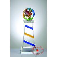 供应创意定做琉璃纪念品 年年有鱼 雄狮雕刻 龙马精神 琉璃收藏品批发