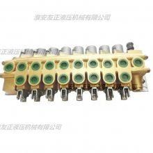 各类型多路阀液压元件液压系统液压泵站流量阀液压换向阀动力单元进口多路阀齿轮泵油泵大排量液压泵