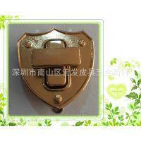 厂家直销箱包配件新款五金锁,装饰锁,高档箱包锁低价批发