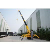 河南郑州1吨蜘蛛吊机履带式起重机
