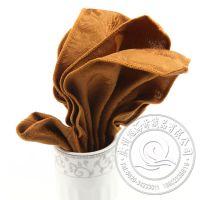厂家批发 各种款式 涤棉50*50cm 酒店餐厅常用桌布 高档餐巾