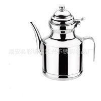 厂家直销 供应江兴不锈钢油壶 调味壶 酱油壶