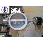 PN10 PN16 Stainless Steel Butterfly Valve , Lever / Gear / Pneumatic actuator Butterfly Valves