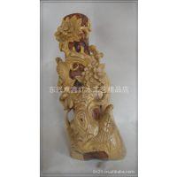 木制礼品 红木花瓶 木质摆件 天然酸枝花瓶 造型别致白酸枝笔筒