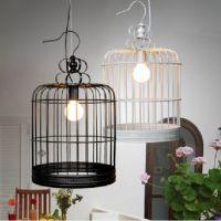简约现代个性创意吊灯 餐桌饭厅服装店专卖店咖啡厅工程鸟笼吊灯