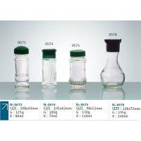 批发 透明 160ML 胡椒粉 辣椒粉 调料 玻璃瓶 生产厂家 图0576