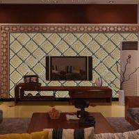 电视墙拼镜银镜金茶镜艺术拼镜工艺玻璃艺术玻璃菱形镜玻璃背景墙