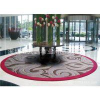 复合橡胶底地垫 订制生产手工编织地毯 羊毛工艺手织高档时尚地毯