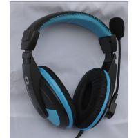 供应批发TCLQ派215电脑耳机 带麦头戴式游戏耳机带麦克风 头戴大耳机