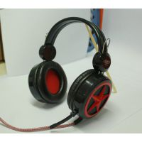 英雄联盟 网吧爆款耳机 头戴式耳麦 音量大线粗 抗暴力 耳机 魔音