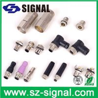 国内M系列连接器厂商供应标准M5/M8/M12/M16/M23连接器 UL,CE,RoHS认证