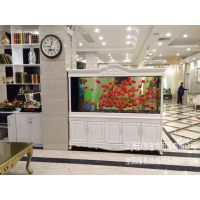 全国鱼缸连锁公司工厂直销 实木古典欧式鱼缸