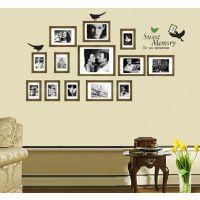 AY856墙贴纸 创意记忆照片墙贴 客厅书房走廊玄关照片相片贴