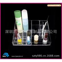 亚克力化妆品展示架 化妆品广告展示架 放置架 有机玻璃展架