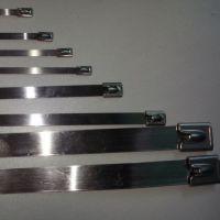 大量批发304不锈钢扎带 万能扎带扣 不锈钢束线带