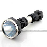 正品巡野DJ-Q069  远射户外 夜行XML T6强光LED手电筒 120