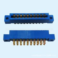 现货供应805印刷板插座3.96间距条形磷铜材质连接器