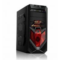 工厂批发销售游戏机箱 可OEM .ODM电脑机箱 诚招代理钢铁侠09红