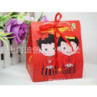 供应婚庆喜糖包装盒 喜糖纸盒 喜糖彩盒 喜糖盒子