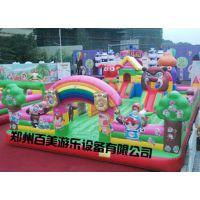 新疆昌吉大型充气城堡,充气蹦蹦床远销海外,国内知名厂家
