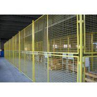 供应仓库黄色铁丝网、白色铁丝网规格、山东哪里有卖金属铁丝网多少钱一米/片/套