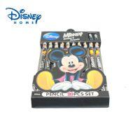 正品迪士尼学生文具 米奇20支装圆形铅笔礼盒套装DM0119