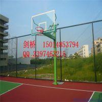 中山固定篮球架安装 剑桥独臂的方管篮球架架价格 免费上门安装服务
