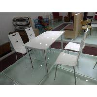 广州市双邻大量出售快餐厅桌椅弯曲木W239