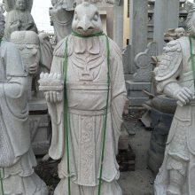 石雕十二生肖人像式,花岗岩十二生肖精品批发,贵州,四川石雕厂家