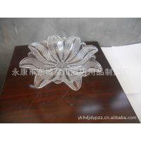 亚克力花瓣形八角果盘、酒店、酒吧、KTV、家用透明水果盘